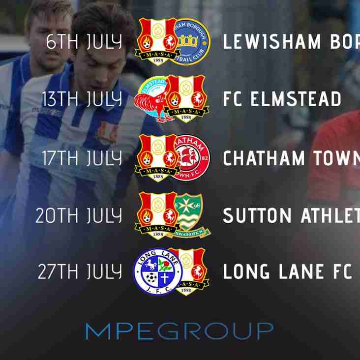 Manager Mike Jones's Views on Pre Season Schedule