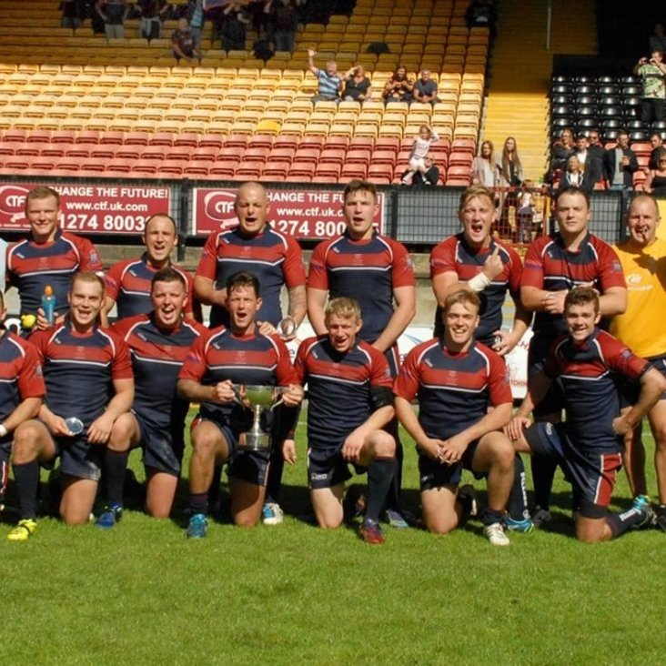 The Sappers retain the Lawson Cup<