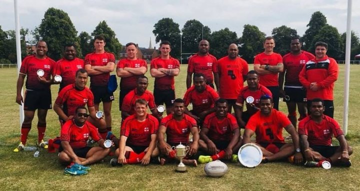 12 Regt RA win the Yeoman Cup - Army Rugby League