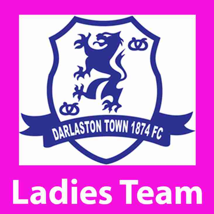 Darlaston Town (1874) Ladies are looking for a coach and a preseason fixture