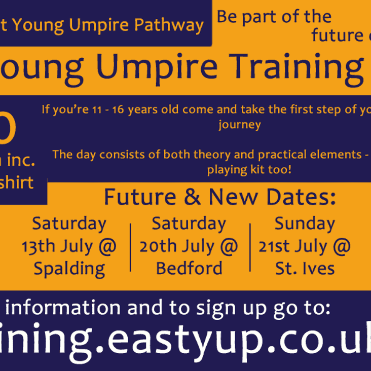 Calling all budding Young Umpires