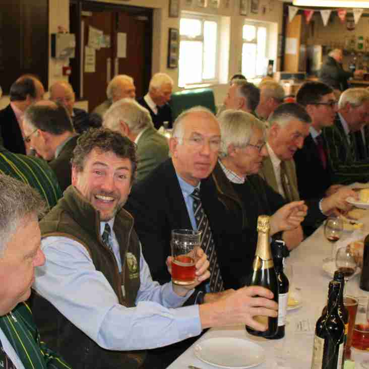 Past Presidents Pre-match Lunch