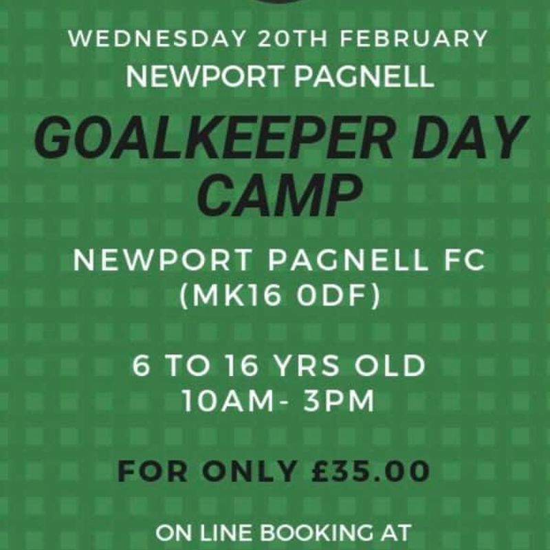 GOALKEEPER WARZ PRESENTS A GOALKEEPERS CAMP at NPTFC