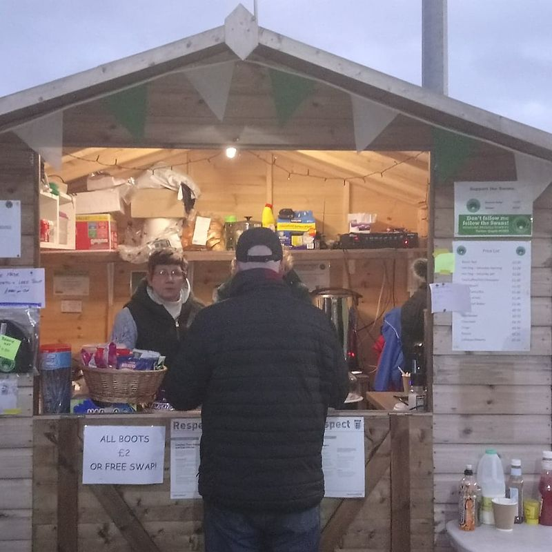 Don't forget the Tea Hut will be open as usual Easter Monday selling various hot food & drinks..
