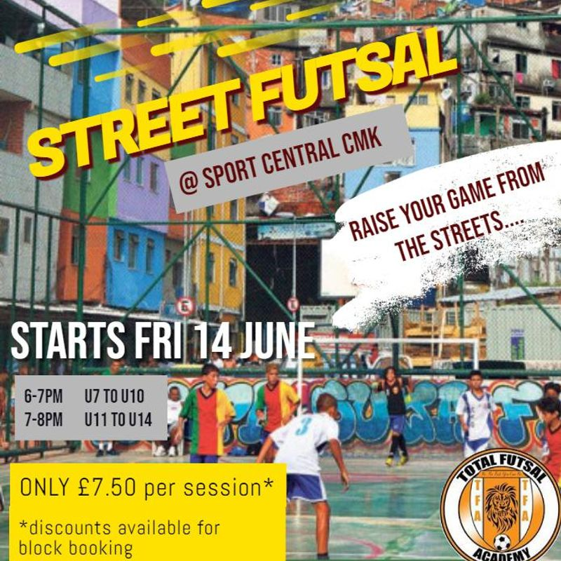 Street Futsal at Sport Central CMK.