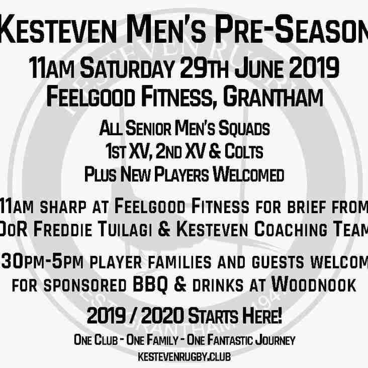 Men's Pre-Season 2019/2020