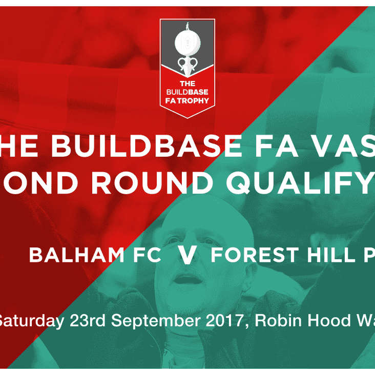 Cup action!!....FA Vase 2nd Qualifying Round, Saturday 23rd September