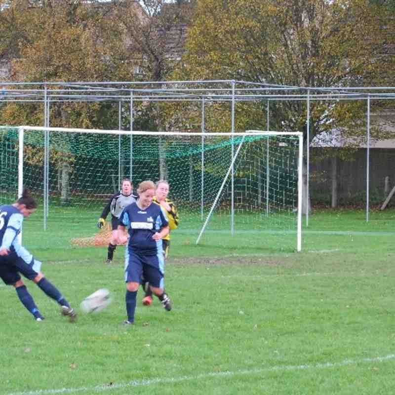 Ilminster Town Ladies Vs Victoria Sports (10-11-13)