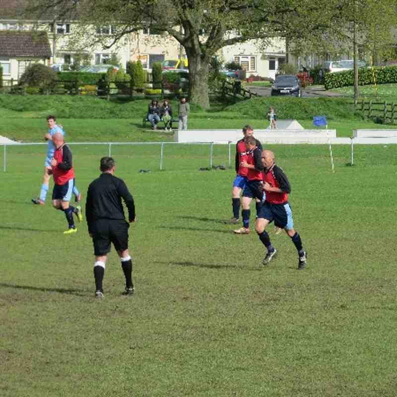 Ilminster Reserve Team Vs Beaminster (26-04-14)