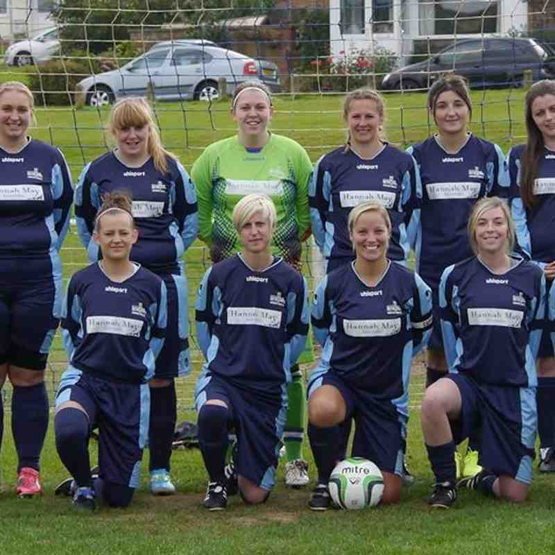 Ilminster Ladies 1st Team 2014/2015