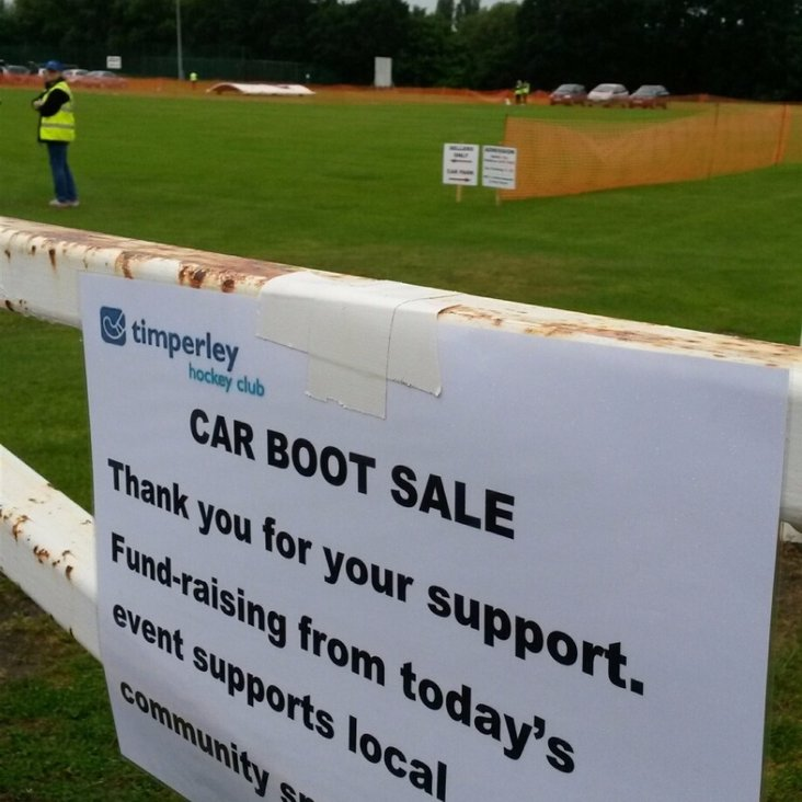 Timperley Sports Club - Car Boot Sales 2017 <