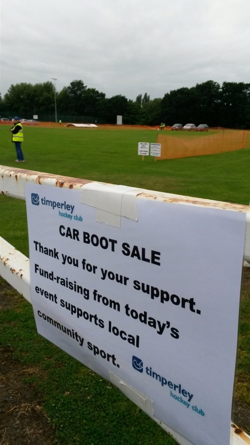 Timperley Sports Club Car Boot Sales 2017 News Timperley