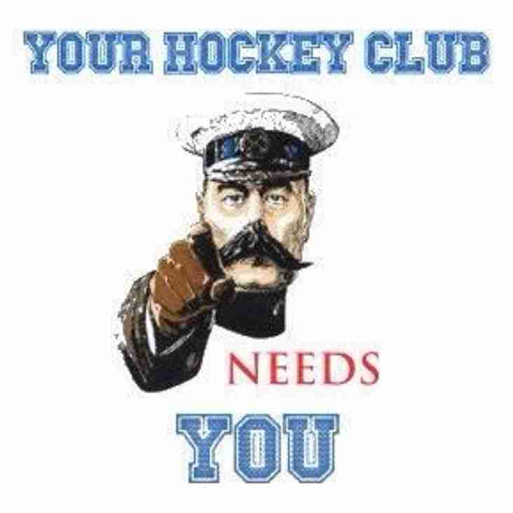 Mark #Nationalvolunteersweek by getting involved in making hockey happen at THC!