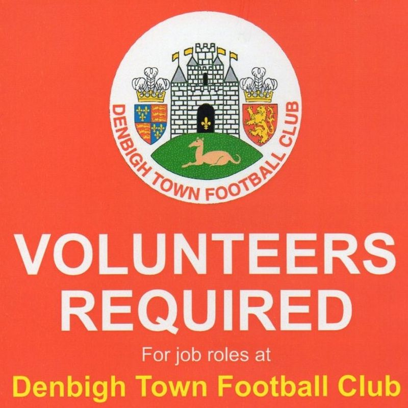 Volunteers Required at Denbigh Town FC