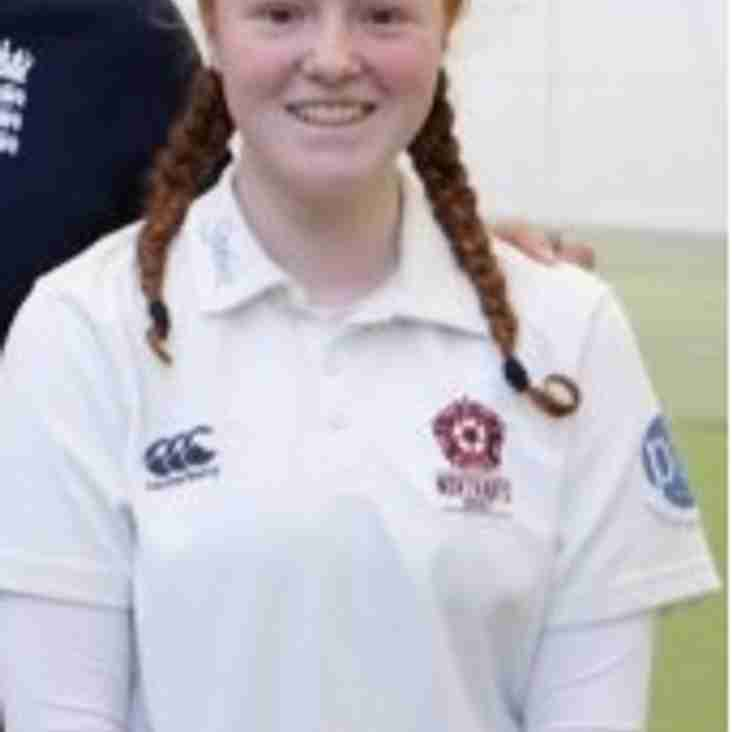 Geddington's Caitlyn Connelly Makes Northamptonshire Women's Debut.