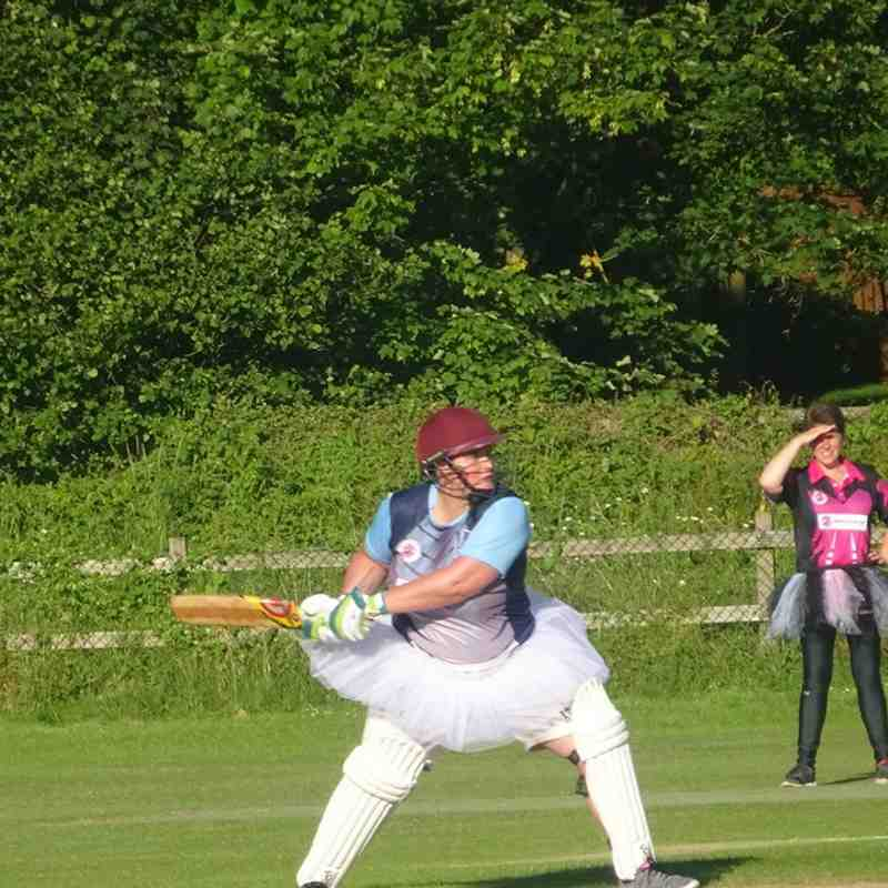 Geddington Ladies V Burton Latimer Ladies At Geddington Cricket Club. 5th July 2019.