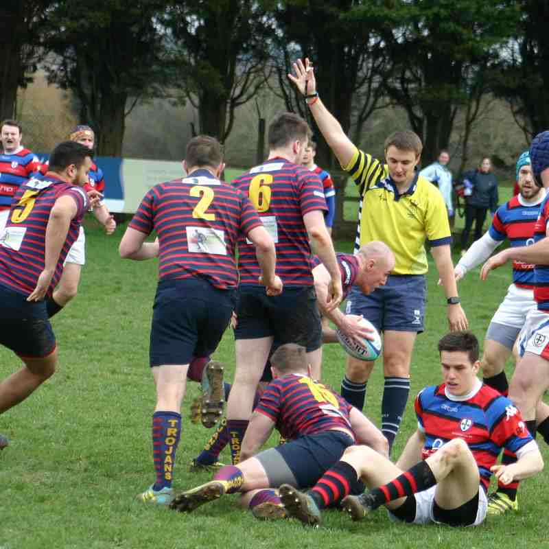 1st V Old Whitgiftians 23 March 2019 - Club photos - Trojans Rugby