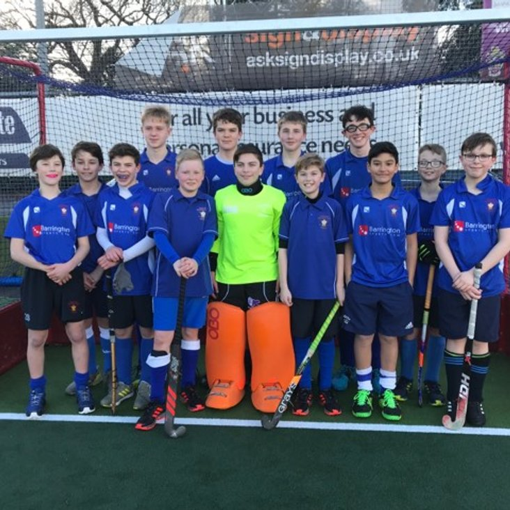 Chester U14 Boys win Four from Four<
