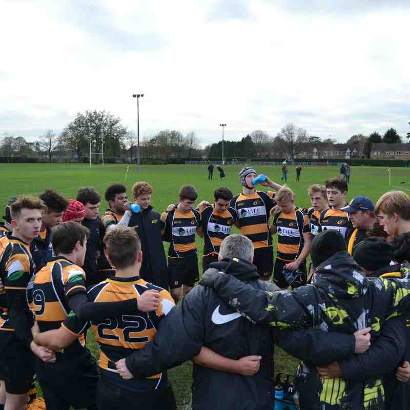 Old Rugby League Games: Academy Div 1 League Game Old Reigatians 221115