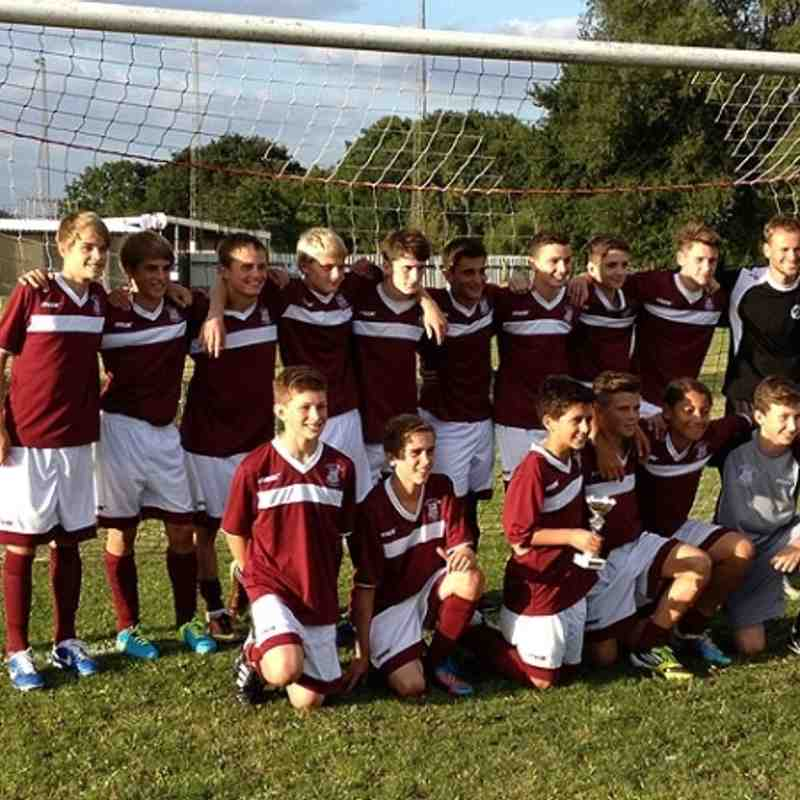 Woodbridge Tournament Winners 2013/14