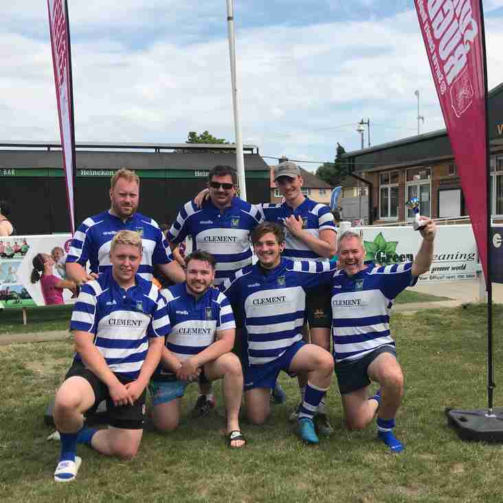 First trophy in the bag for Haslemere !