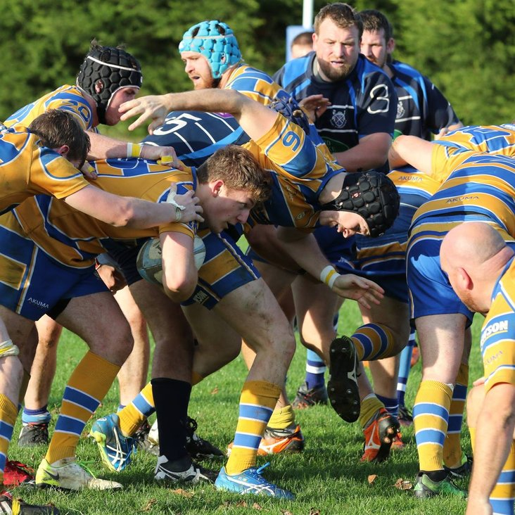Fixture: Rugby St Andrews  RFC 1st XV    v    Old Leamingtonians RFC 1st XV<