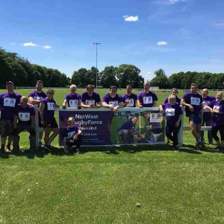 Thanks for your help with Natwest Rugby Force