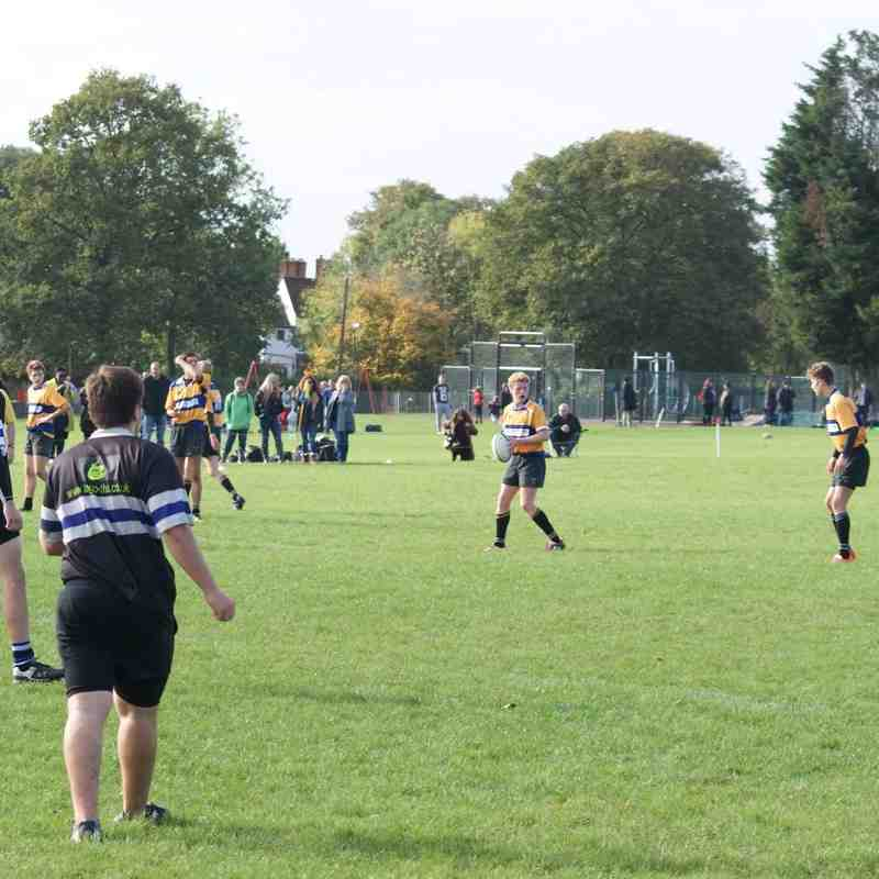 V's Chingford RFC U16 19.10.14