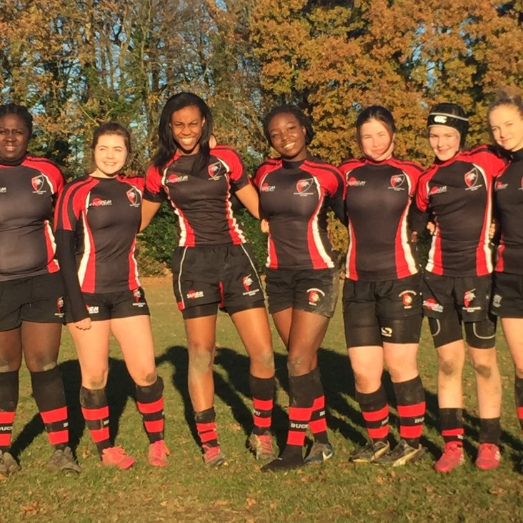 Buckingham Girls Shine For U15 County Side<