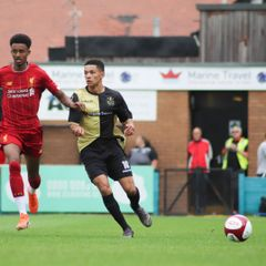 Marine v Liverpool U23s - LDA Media