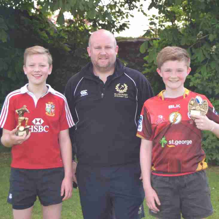 Head Coaches awards for S1