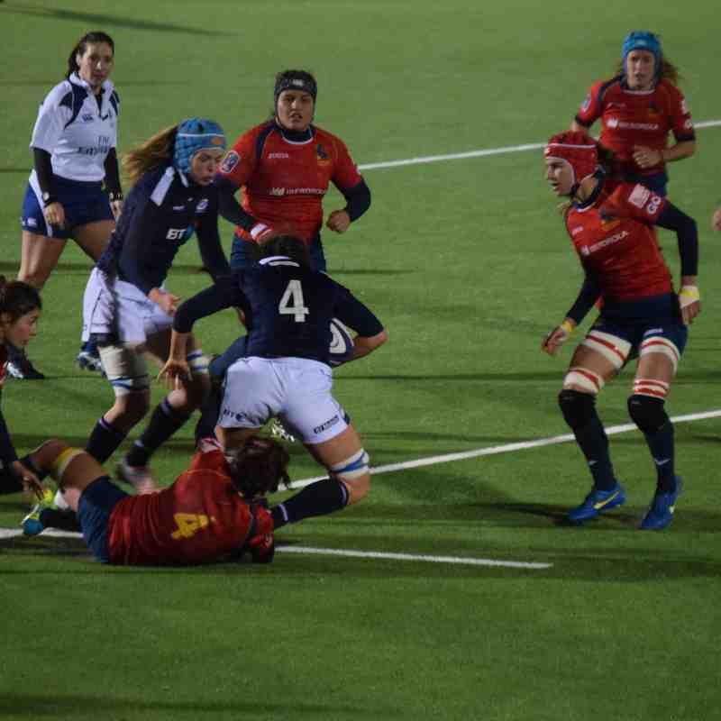 161118 Scotland V Spain - Women World Cup Play Off