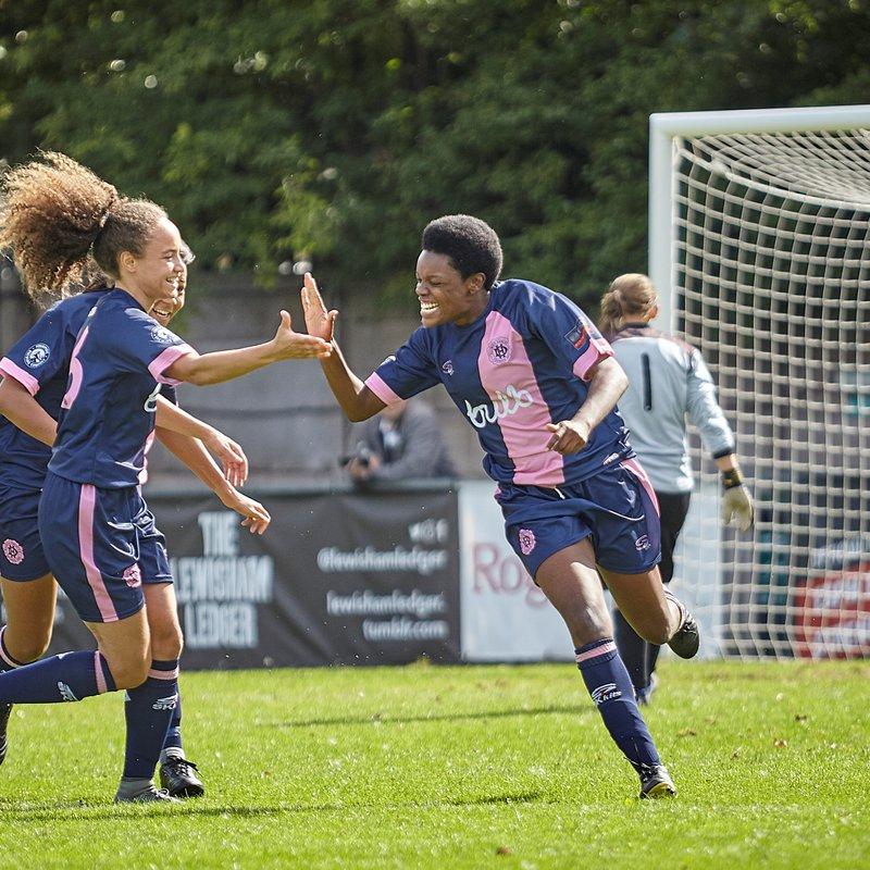 Dulwich Hamlet 2-1 Aylesford Ladies