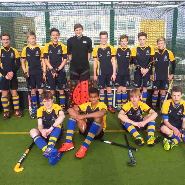 U16 Boys in YYHL action on Sunday 9th November 2014.