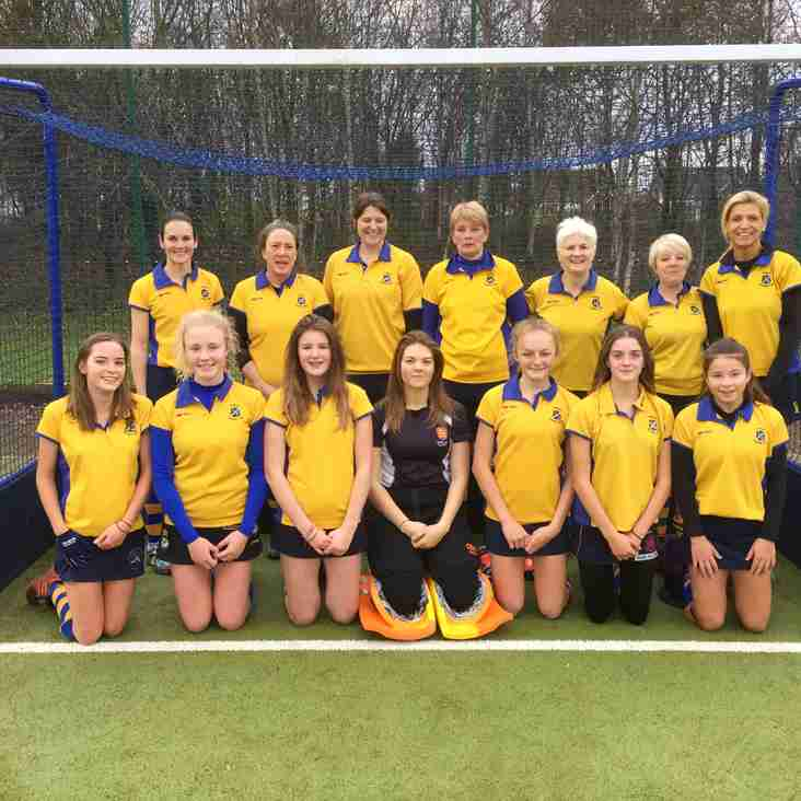 Ladies 2nds host 3rd placed Leeds Adel.