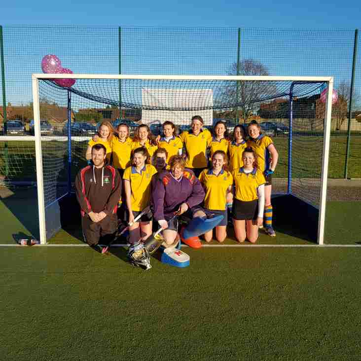 Ladies first team chalk up another win.