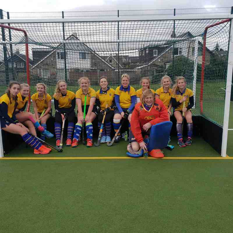 Ladies 2nds Oct 2018