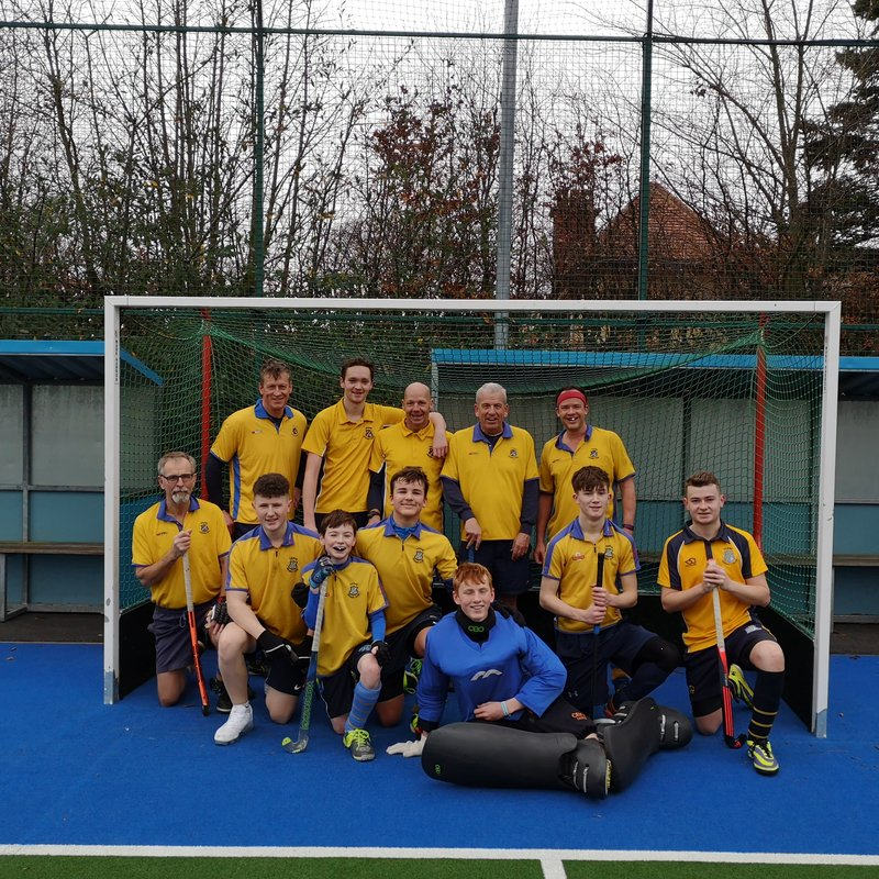 Another victory for men's thirds.