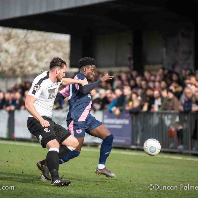 Dulwich Hamlet 2 - 0 Dartford, 2nd March 2019