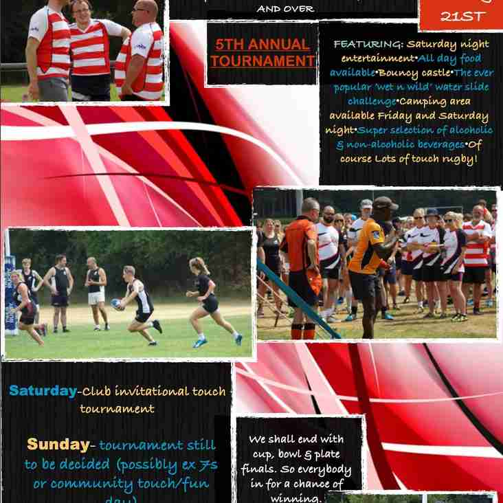 Thetford Touch Rugby Tournament