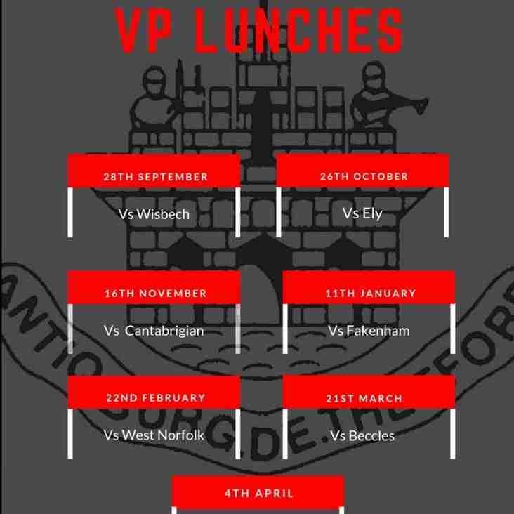 VPs lunches