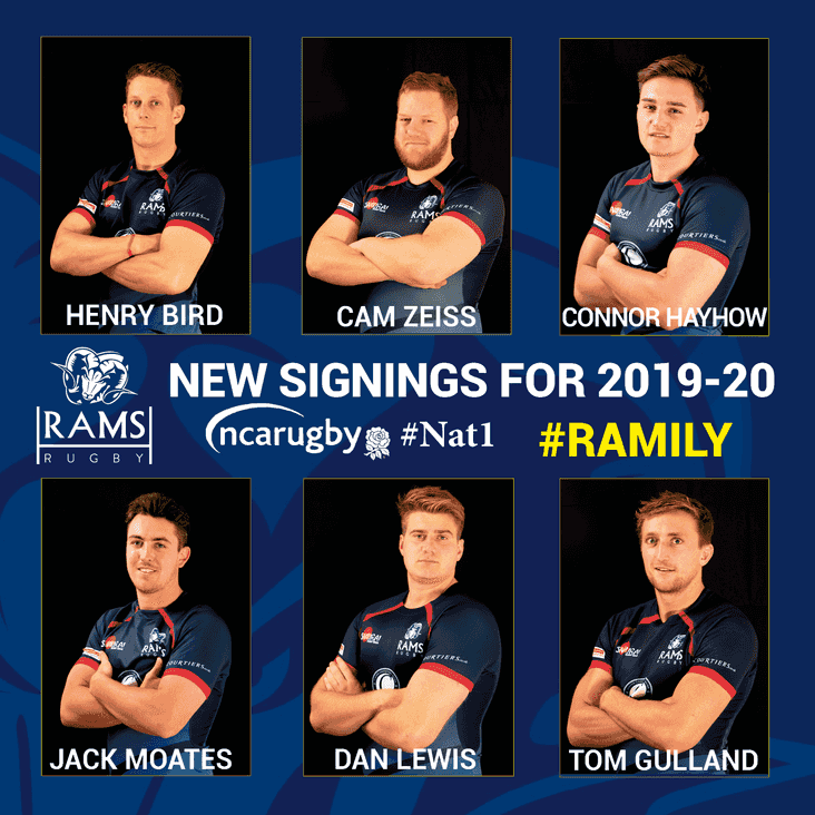RAMS strengthen for NAT 1 challenge