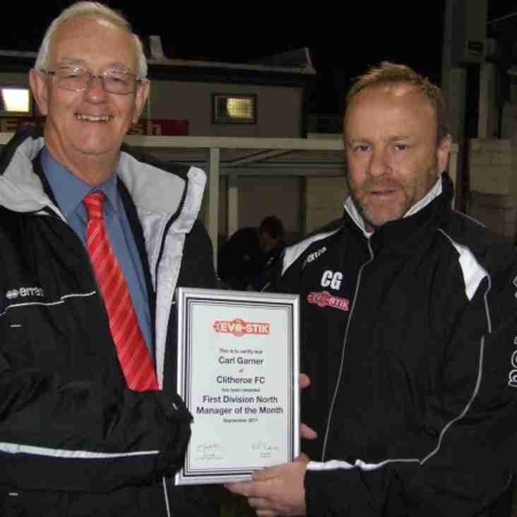 Evo-Stik First North Manager of the Month - September