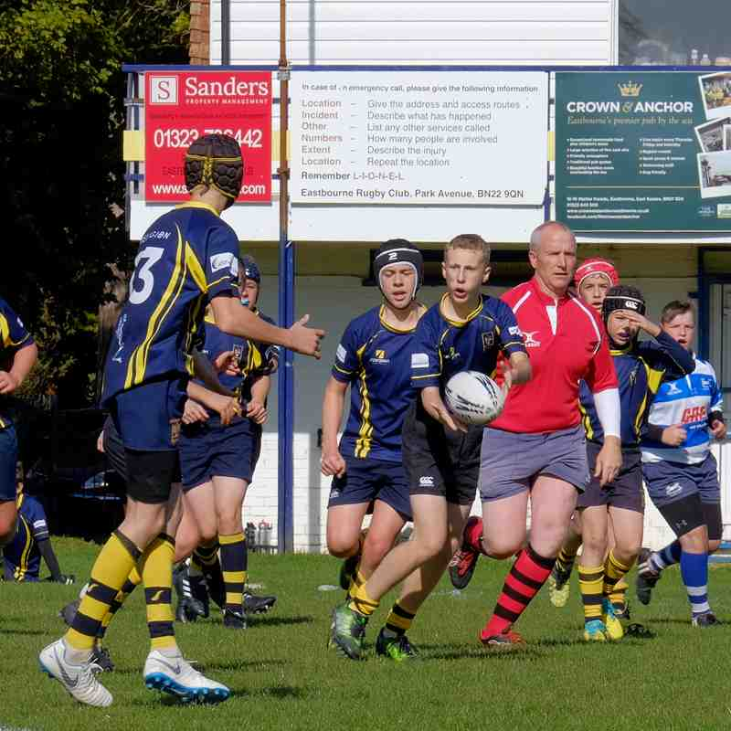 Eastbourne U14's Vs Hastings 7-10-18