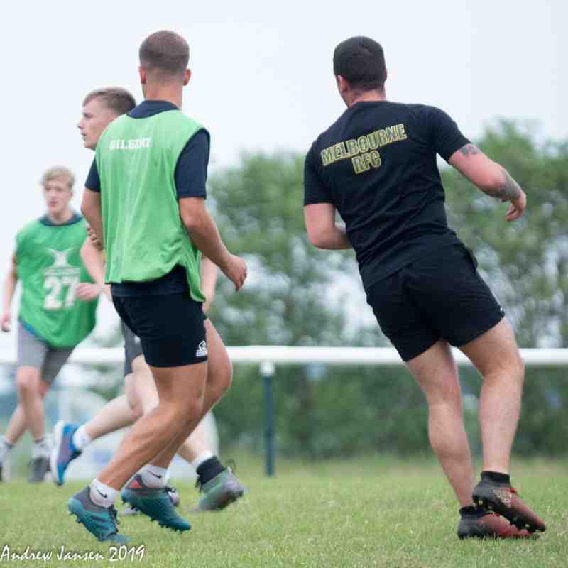 19/20 Pre-season Seniors and U16s Mix It Up