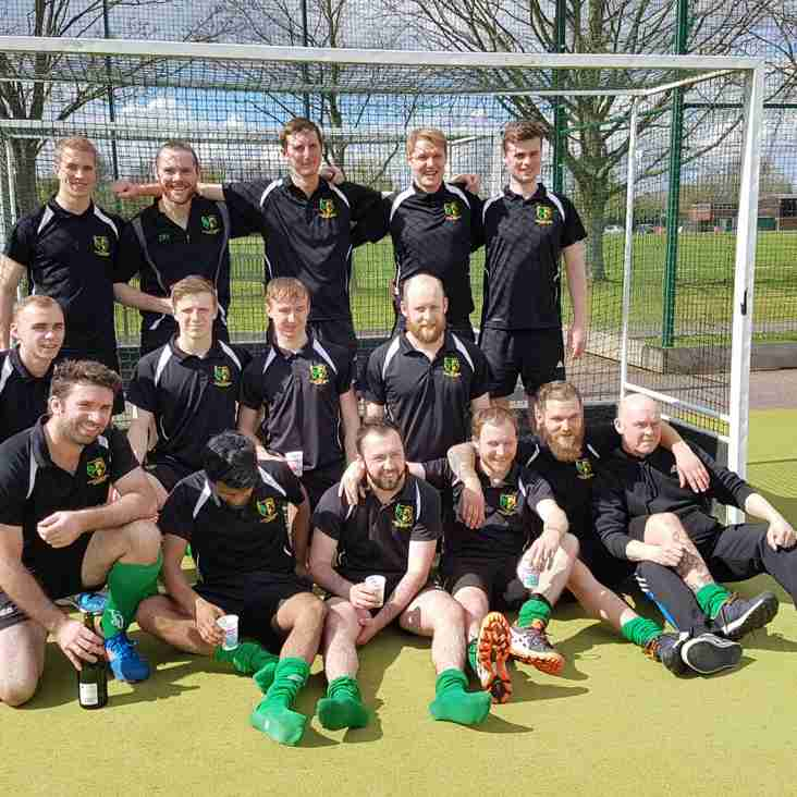 Newly formed men's 1st XI get promotion!