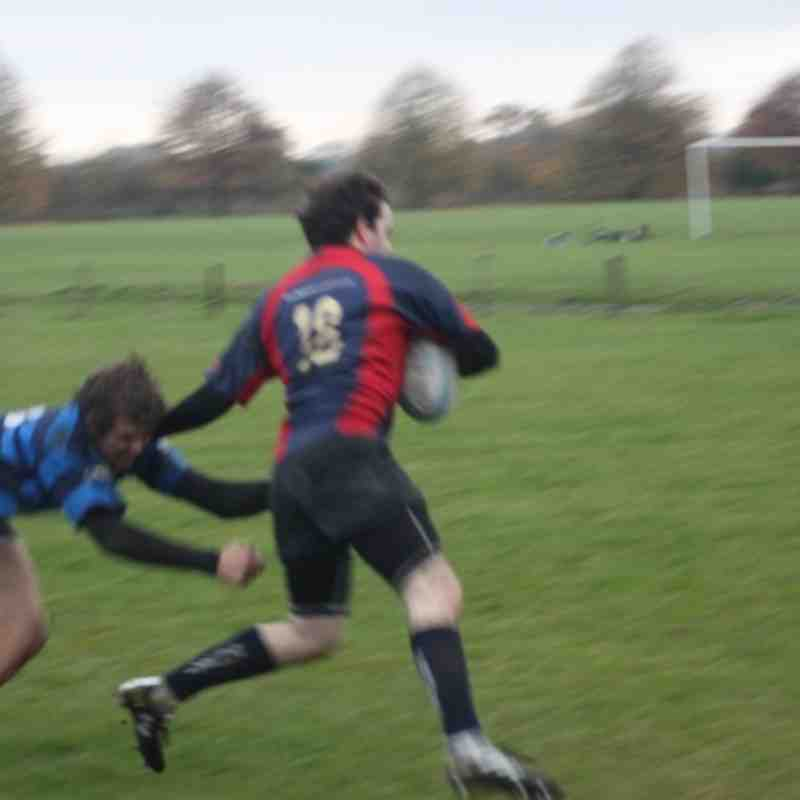 Dev Squad v Syston 3's (5 Nov'11)
