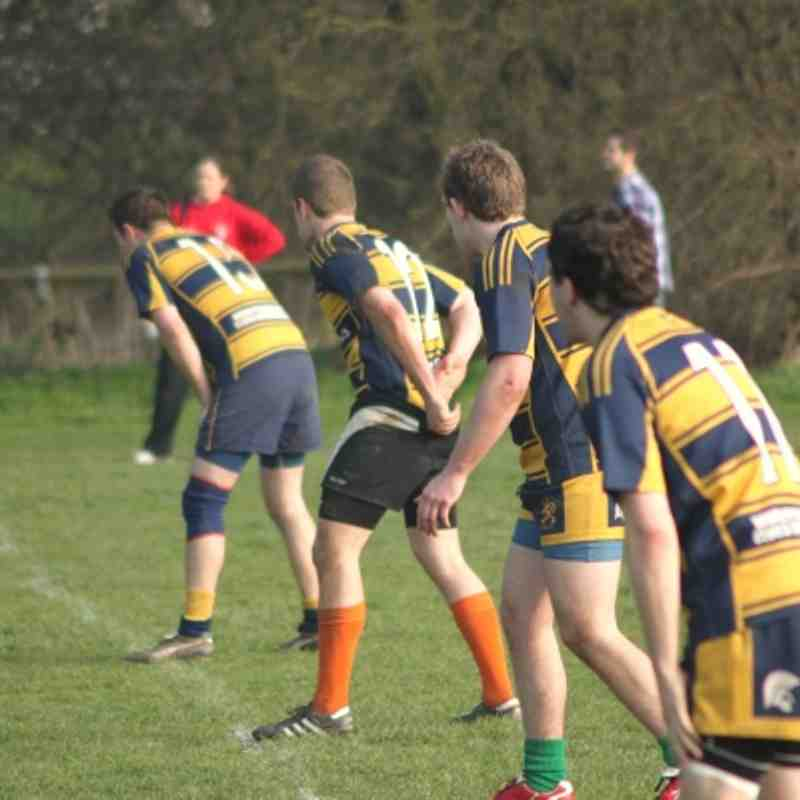 Loughborough RFC 2nds v Coalville 2nds (24 March 2012)