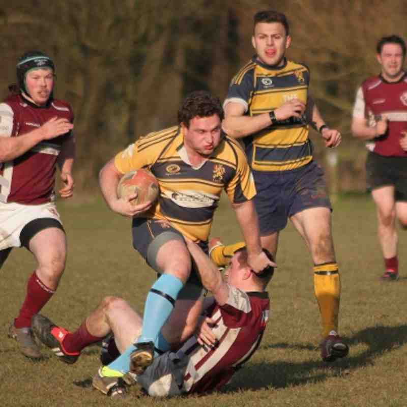 Loughborough 3rds v Melton (2 March 2013)
