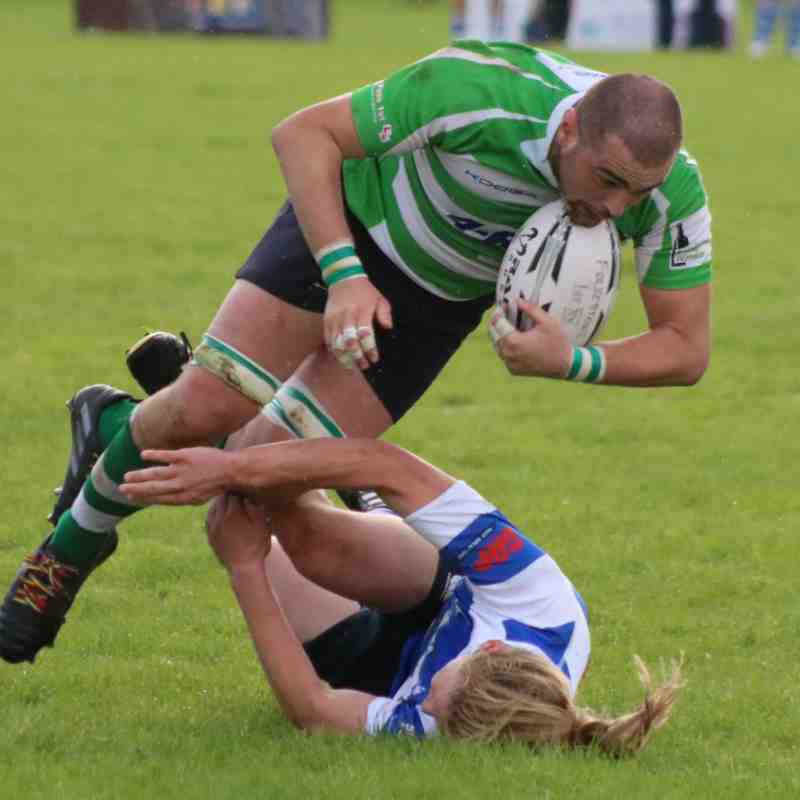 Folkestone 1st XV draw against Hastings and Bexhill 14-14 by Lisa Godden
